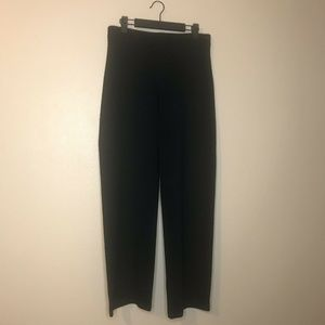 Eileen Fisher Black Straight Stretch Pants